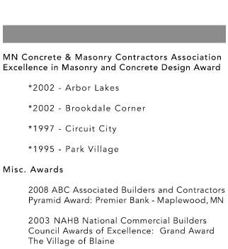 Architectural Consortium, LLC Awards